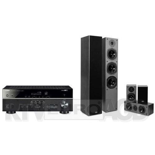Yamaha musiccast rx-v485 (czarny), prism audio falcon ht500 (czarny)