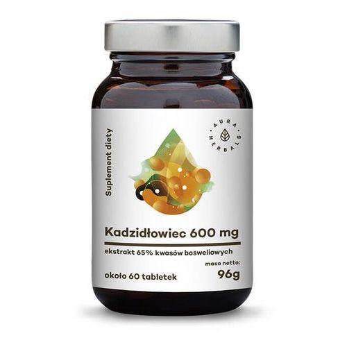 AURA HERBALS Kadzidłowiec ekstrakt 600mg, 96g (około 60 tabletek) (5902479611273)
