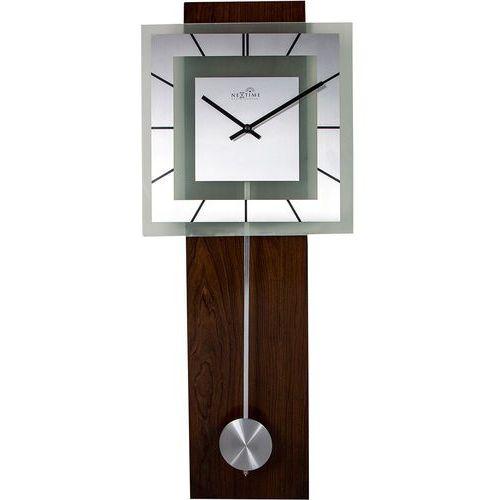 Zegar ścienny Retro z wahadłem sterowany radiowo Nextime 32 x 80 cm (3144)