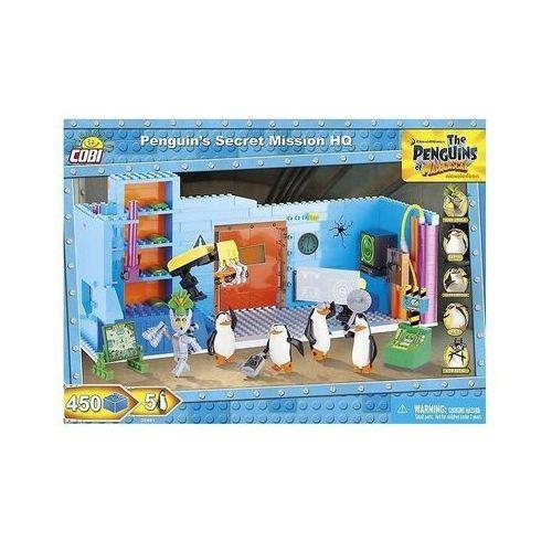 Cobi klocki Pingwiny z madagaskaru- sekretna misja (26481) + zakładka do książki gratis (5902251264819)