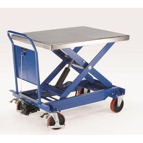 Seco Platformowy wózek podnośnikowy europlatforma, platforma ze stali szlachetnej, no