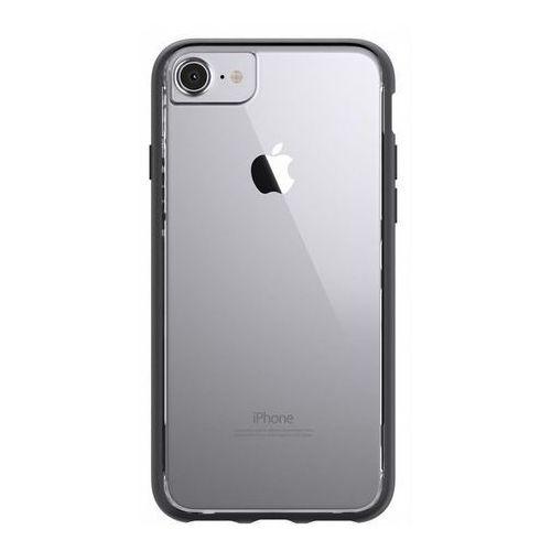 Griffin reveal etui obudowa iphone 8 / 7 / 6s / 6 (czarny/przezroczysty)