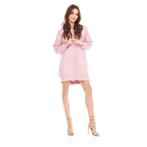 Sukienka Zayra w kolorze różowym