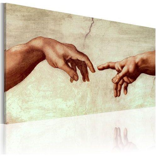 Obraz malowany - stworzenie adama marki Artgeist