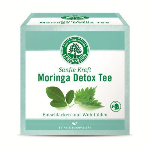 Lebensbaum (przyprawy, herbaty, kawy) Herbatka moringa vitalitea ekspresowa bio (12 x 2 g) - lebensbaum