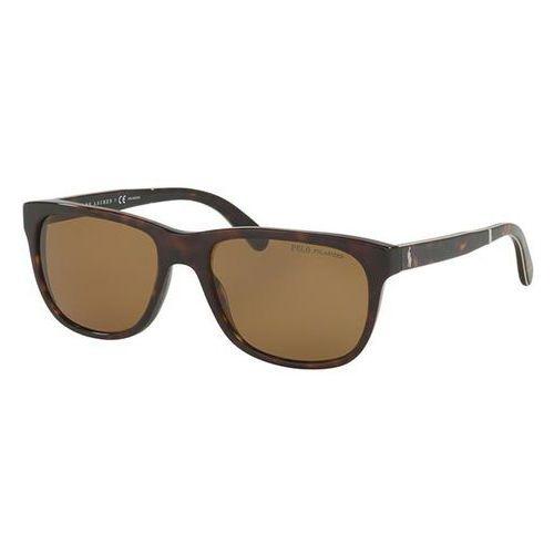 Okulary słoneczne ph4116 tartan polarized 500383 marki Polo ralph lauren
