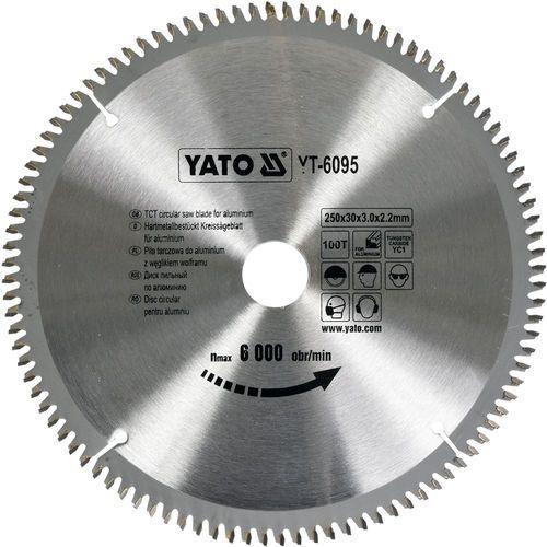 Yato Tarcza widiowa do aluminium 250x100tx30mm yt-6095 - zyskaj rabat 30 zł