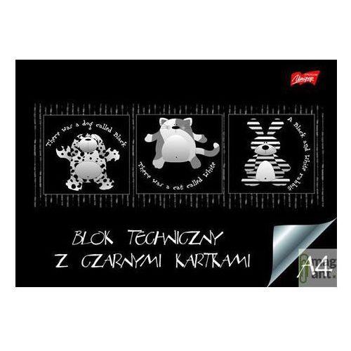 Blok techniczny a4/10 kartek czarny - unipap od 24,99zł darmowa dostawa kiosk ruchu marki Majewski