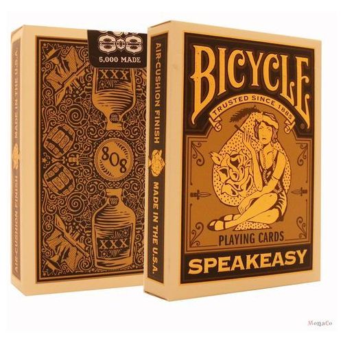 Karty Bicycle SPEAKEASY- Club 808 - USPC - limitowana Karty Bicycle SPEAKEASY - Club 808 - USPC - limitowana