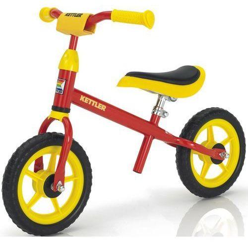 """Kettler rowerek biegowy Speedy 10"""" czerwony - Czerwony   Czarno-czerwono-żółty   Żółty"""