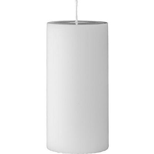 Świeca bloomingville 15 cm biała (5711173115242)