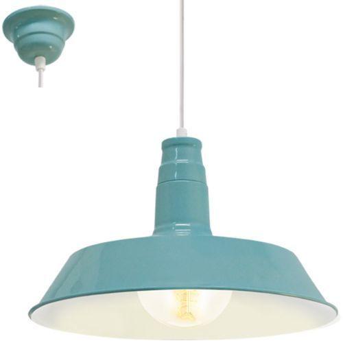 Lampa wisząca somerton 49253 1 1x60w e27 miętowa marki Eglo
