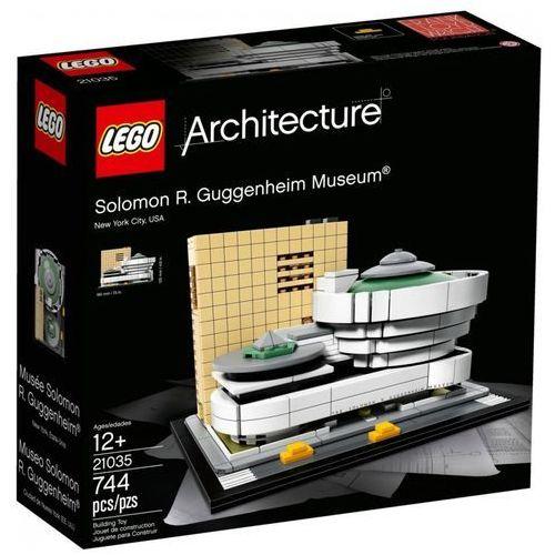 Klocki architecture muzeum salomona r.guggenheima marki Lego