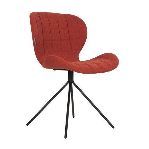 krzesło omg pomarańczowe 1100174 marki Zuiver