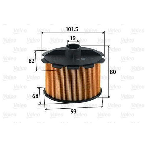 Valeo Filtr paliwa  587905