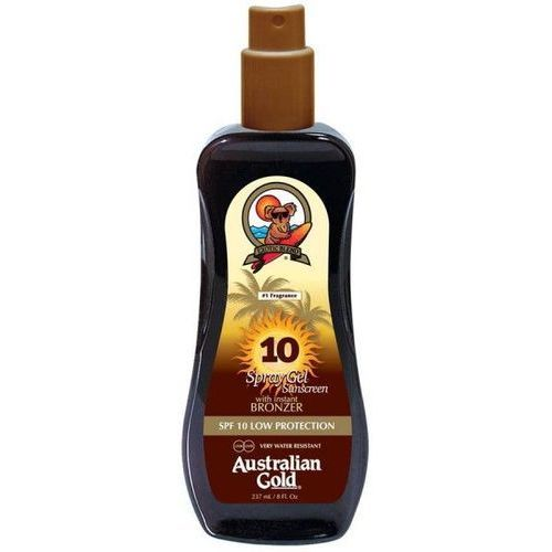 Australian Gold SPF 10 Spray Gel Bronzer | Spray do opalania z bronzerem 237ml