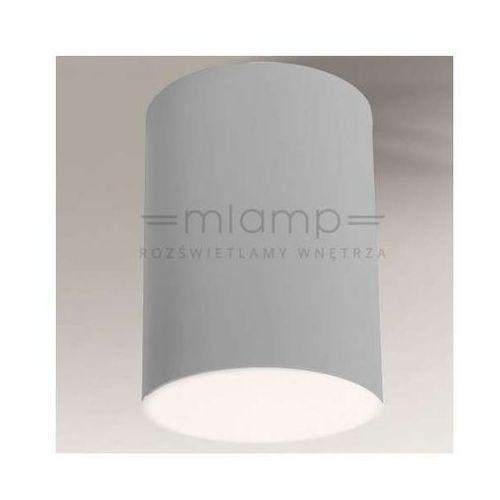 Downlight LAMPA sufitowa YUFU 1180/GX53/SZ Shilo natynkowa OPRAWA spot tuba szara (1000000328950)