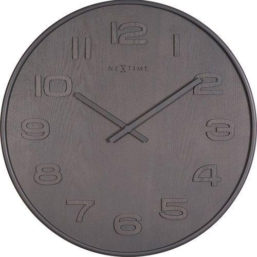 Zegar ścienny Wood Wood Nextime 53 cm (3095 GS), 3095 GS