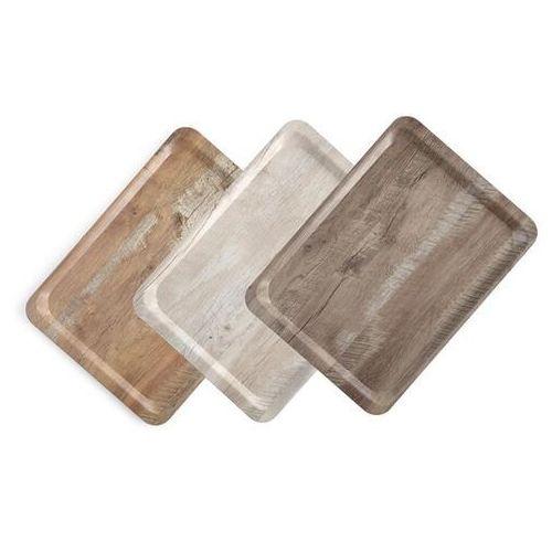 taca do serwowania laminowana nadrukiem drewna 370x530 - kod product id marki Hendi