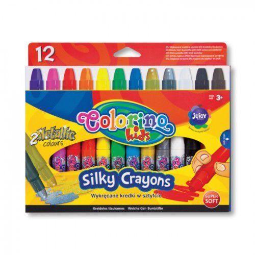 Wykręcane kredki żelowe w sztyfcie 12 kolorów, 36078PTR