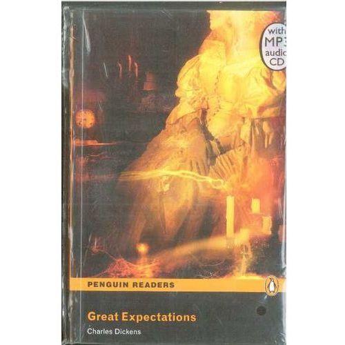 Great Expectations Plus MP3 CD (Wielkie Nadzieje) Penguin Readers Classic (opr. miękka)