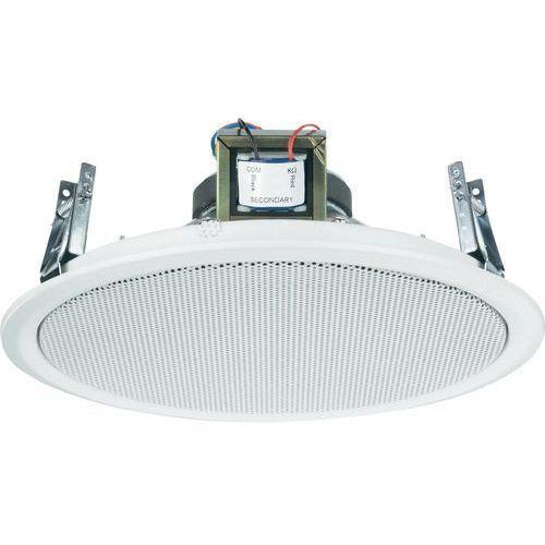 Głośnik sufitowy PA do zabudowy Monacor EDL-10TW, Moc RMS: 2 W, 50 - 20 000 Hz, 100 V, Kolor: biały, 1 szt. (4016138776003)