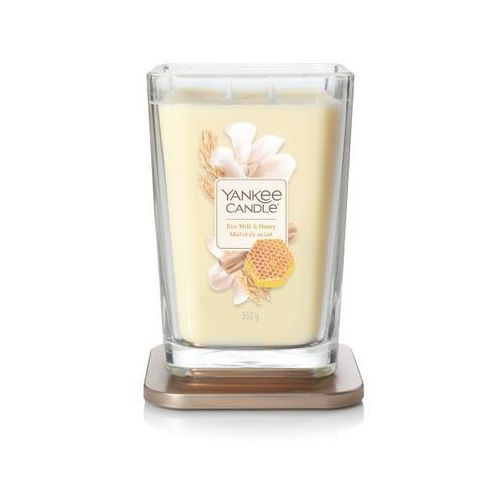 Yankee candle świeca elevation rice milk& honey 552g