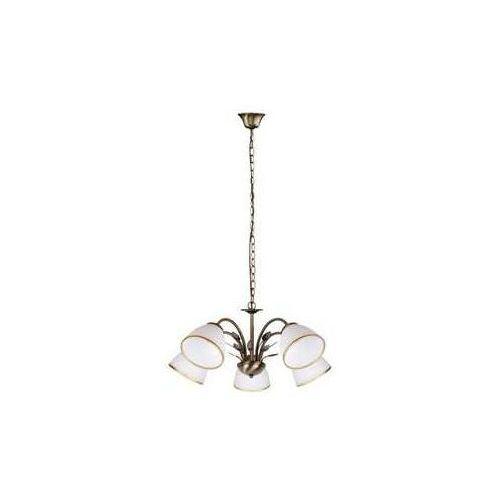 Lampa wisząca zwis oprawa Rabalux Aletta 5X40W E14 brązowa 2780 (5998250327808)