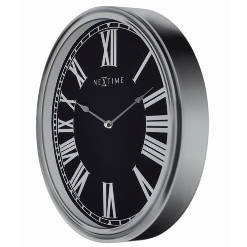 - zegar ścienny houdini - srebrny marki Nextime