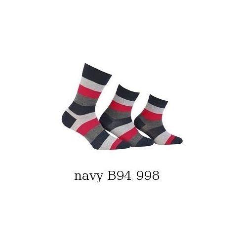 Skarpety Wola W 94.N07 Tata & Syn 39-41, granatowy/navy. Wola, 39-41, 45-47, 42-44