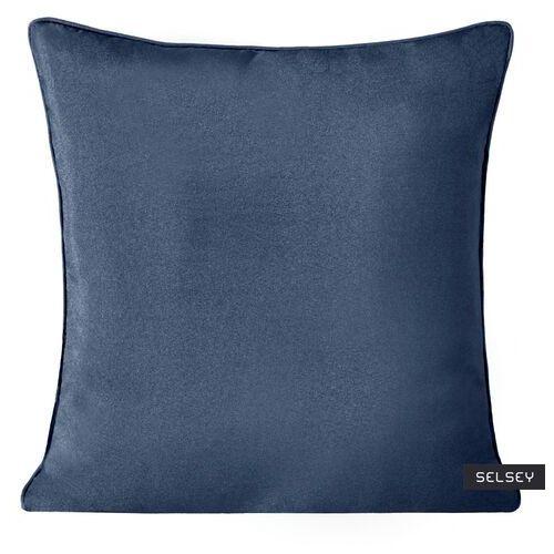 SELSEY Poszewka na poduszkę Neidhard 40x40 cm z ozdobną lamówką (5903025489889)