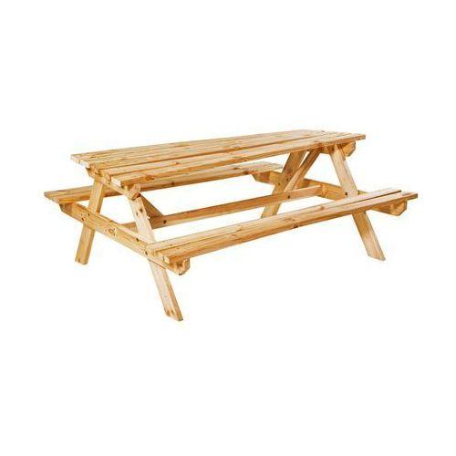 Ławka / stół piknikowy drewniany UPPSALA (5907377043157)