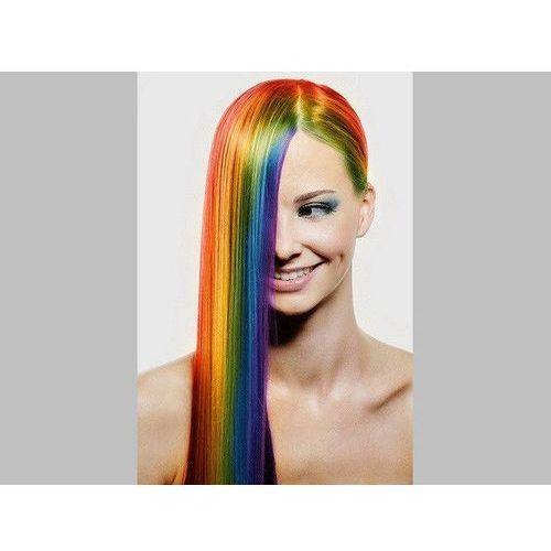 Go Zmywalny kolorowy spray do włosów 125 ml - srebrny