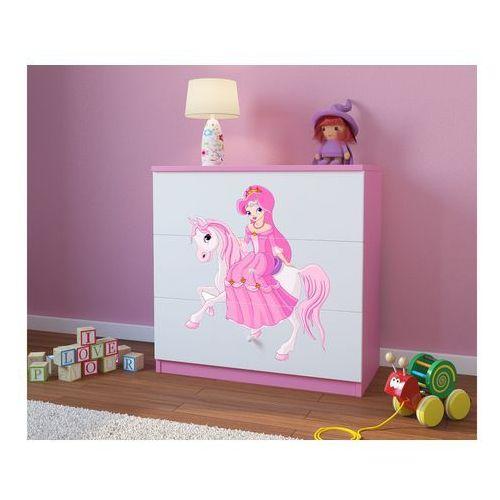 Komoda dziecięca babydreams księżniczka na koniku kolory negocjuj cenę marki Kocot-meble