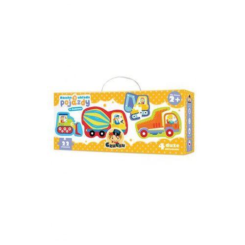 Czuczu rączka układa pojazdy na budowie puzzle marki Bright junior media