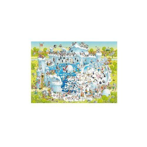 Puzzle 1000 EL. Polar Habitat, Degano (4001689296926)