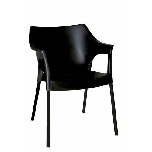 Resol Krzesło pole deluxe czarny