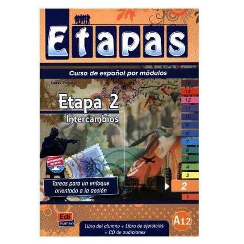 Etapas 2 Podręcznik + ćwiczenia + CD audio, NOWELA