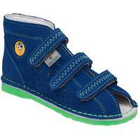 Kapcie profilaktyczne buty t105e t115e blue zielony - niebieski ||granatowy ||zielony ||multikolor marki Danielki