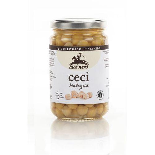 : cieciorka, ciecierzyca, groch włoski w zalewie bio - 300 g marki Alce nero