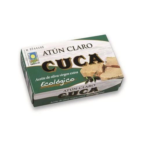 : tuńczyk żółtopłetwy w oliwie z oliwek bio - 110 g marki Cuca