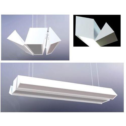 Bpm lighting Lampa wisząca alonso l-r anodowane aluminium 3x12,4w led, 10152.18.ag