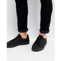 Fred perry b721 tricot trainers in black - black