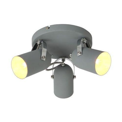 Plafon lampa sufitowa spot gray 3x40w e14 szary 98-66503 marki Candellux