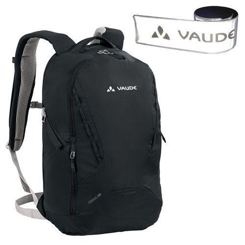 Miejski plecak na laptop  omnis 28l czarny + gratis odblask marki Vaude