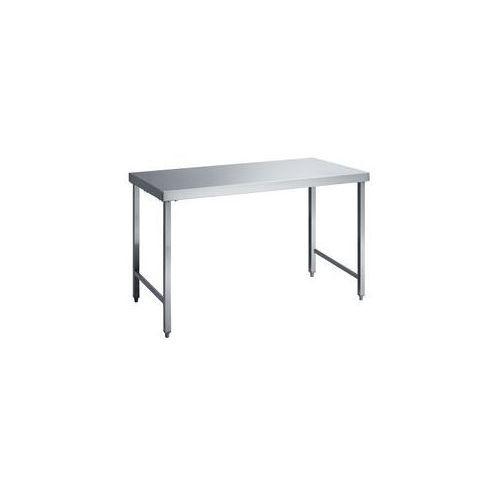Stół roboczy ze stali szlachetnej,wys. robocza 850 mm