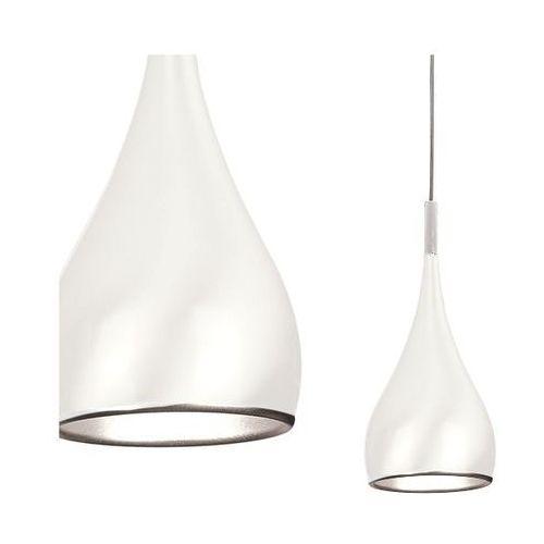 Azzardo Lampa wisząca spell lp5035-wh  aluminiowa oprawa zwis kropla łezka biały