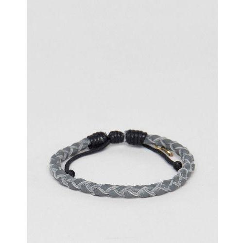 grey woven bracelet - grey marki Classics 77