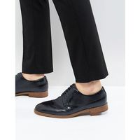 uniessi brogue shoes in navy - navy, Call it spring