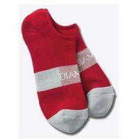 skarpetki DIAMOND - No Show Futura Socks Red/Grey (RDGY) rozmiar: OS, kolor czerwony